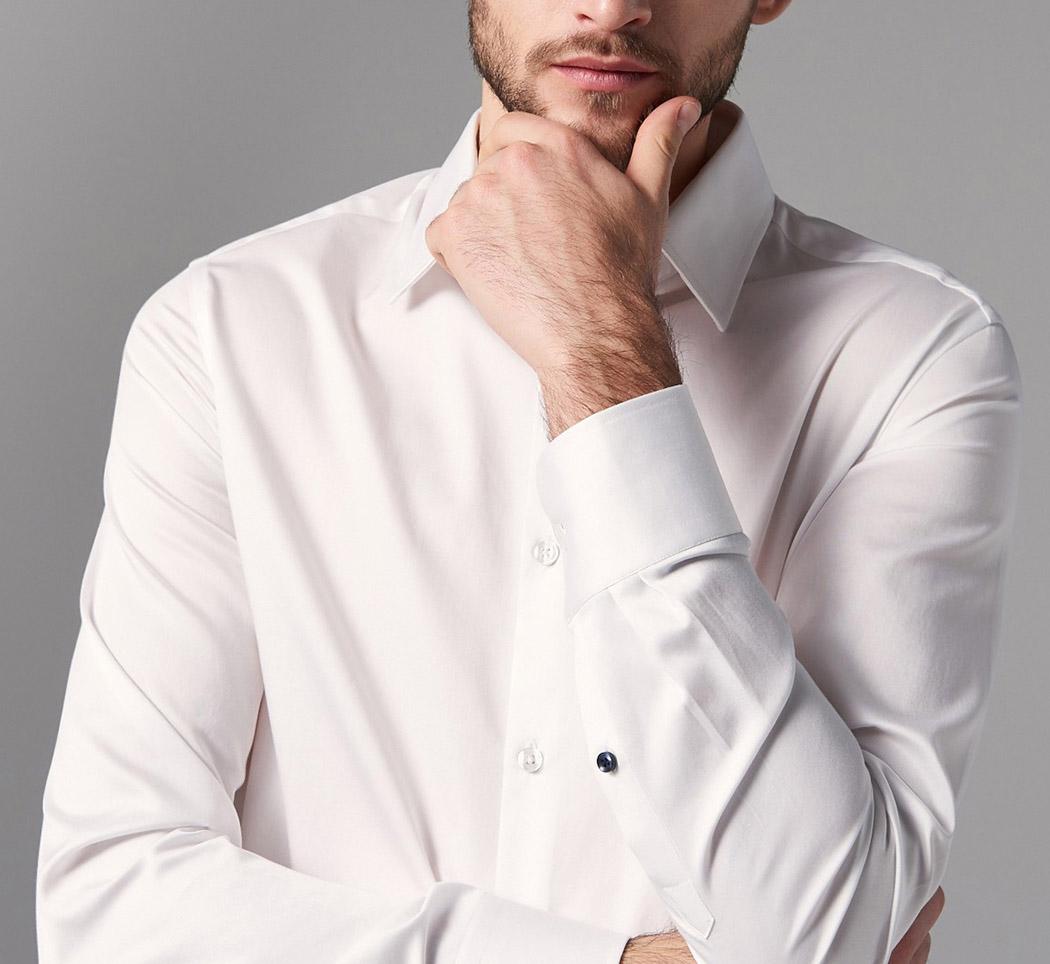 koszule z guzikami stały się codzienną częścią garderoby klasy średniej