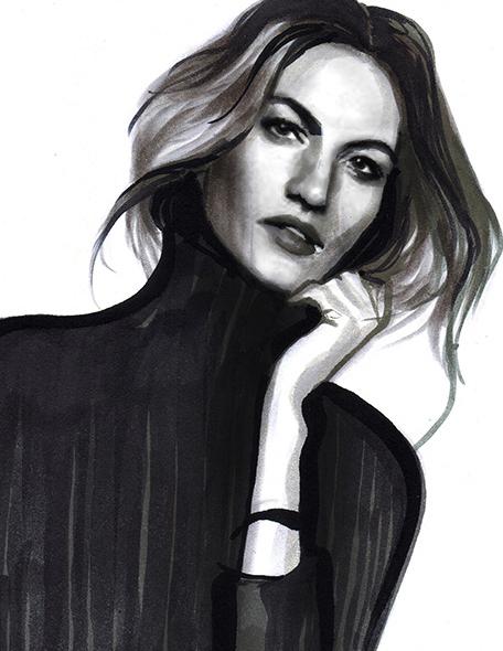 5 ikon modelingu: kobiety